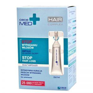 Ampułki przeciw wypadaniu włosów Cece Med 30x7ml