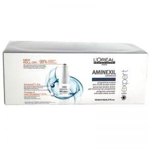 Kuracja przeciw wypadaniu włosów Loreal Aminexil Advanced 42x6ml