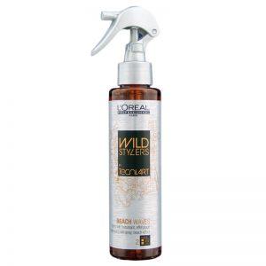 Spray z solą, efekt plażowych fal Loreal Tecni Art Wild Stylers 150ml