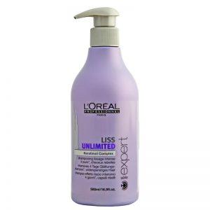 Szampon wygładzający włosy Loreal Liss Unlimited 500ml