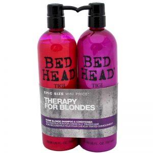 Zestaw odbudowujący włosy szampon i odżywka Tigi Bed Head Theraphy For Blondes 2x750ml