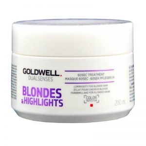 Maska do włosów Goldwell Dualsenses Blondes & Highlights 60 sec 200ml