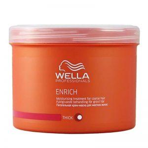 Maska odżywcza do włosów grubych Wella Enrich 500ml