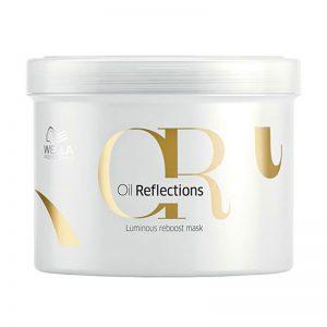 Maska wzmacniająca połysk włosów Wella Oil Reflections 500ml