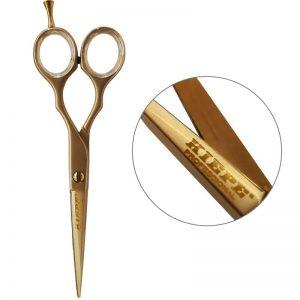 Nożyczki fryzjerskie Kiepe Luxury złote 5,5