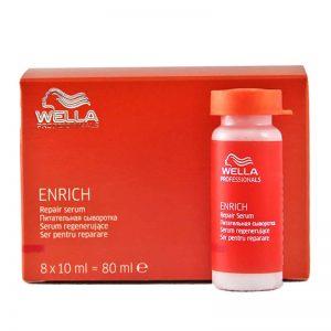 Serum regenerujące do włosów Wella Enrich 8x10ml