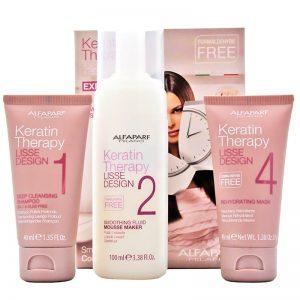 Zestaw Alfaparf do keratynowego prostowania włosów