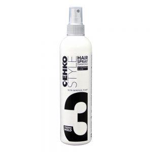 Mocny lakier do włosów Cehko Style 3 bez aerozolu 300ml