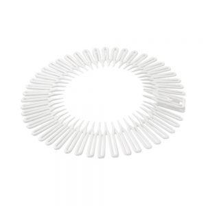 Opaska elastyczna do włosów biała