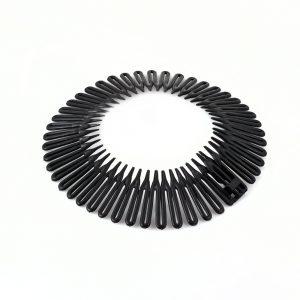 Opaska elastyczna do włosów czarna