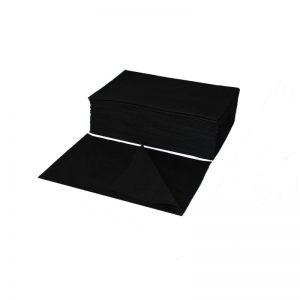 Ręczniki jednorazowe czarne