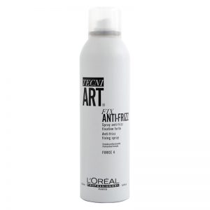 Spray utrwalający Loreal Fix Anti Frizz 250ml