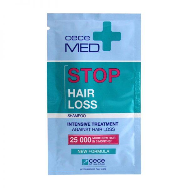 Szampon w saszetkach Cece Med przeciw wypadaniu włosów