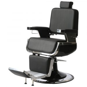 Fotel barberski Ayala Dark